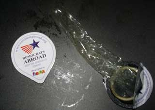 Democrats Abroad Condoms