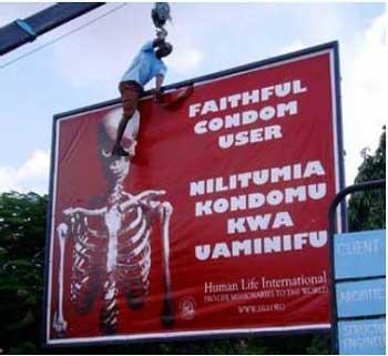 tanzania anti condom ad
