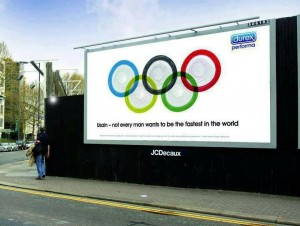 Durex takes the heat out of the Olypics