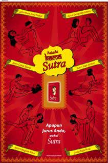Kama Sutra condom ad, Indonesia